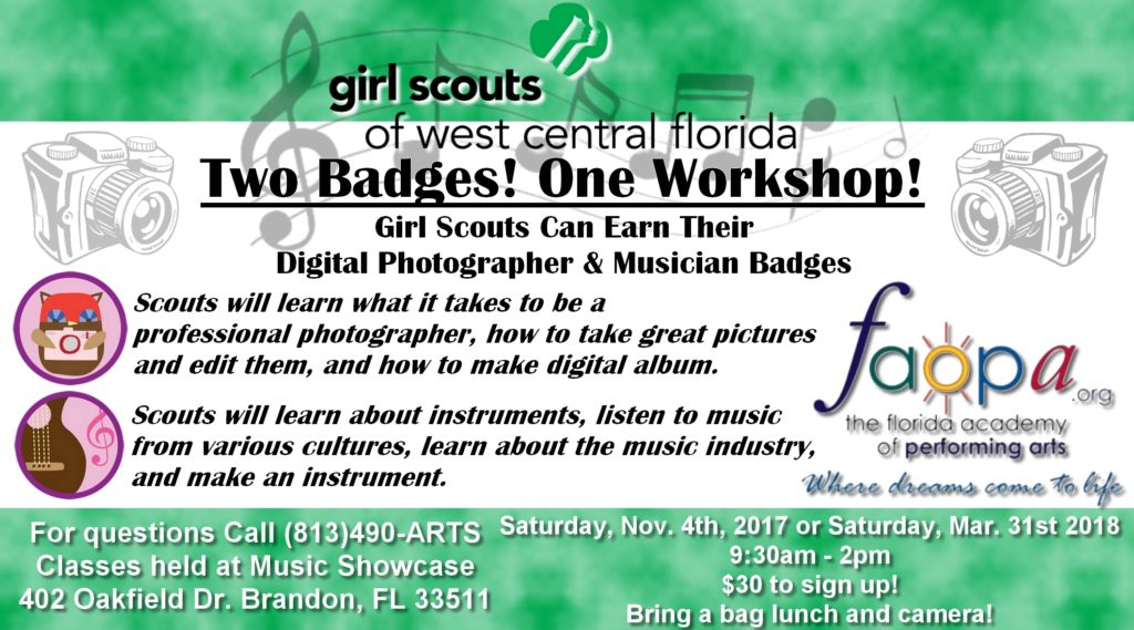 Girl Scout Workshop