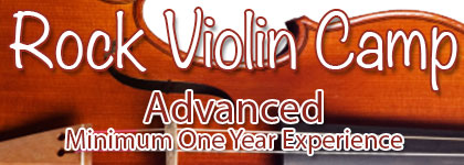 Rock Violin Camp